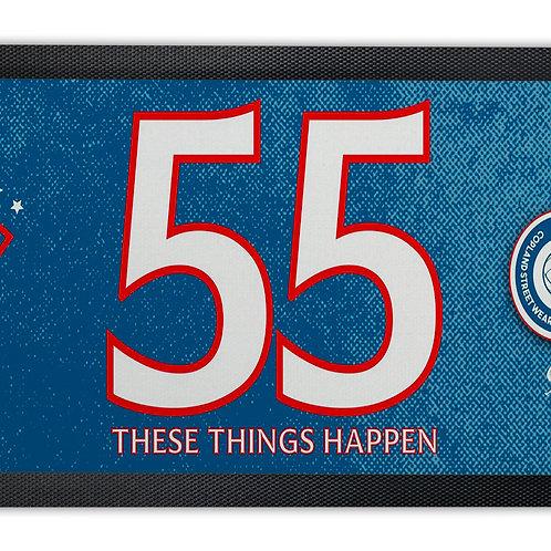 55 These Things Happen Bar Runner