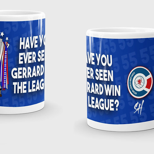 Ever Seen Gerrard Win The League Mug