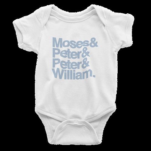 Moses&Peter&Peter&William Babygrow