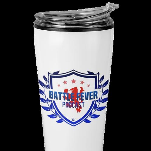 Battle Fever Podcast Travel Mug