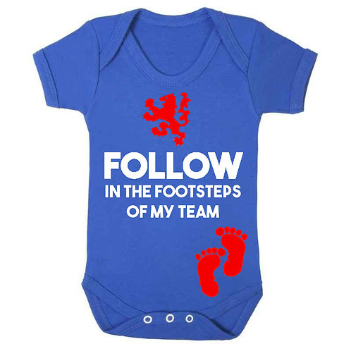 Follow In Footsteps Babygrow