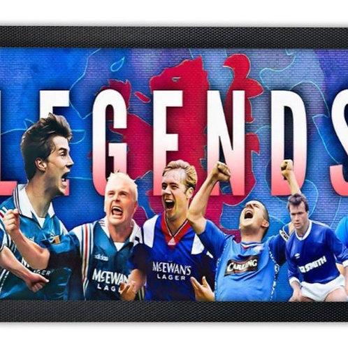 Rangers Legends Bar Runner Mat
