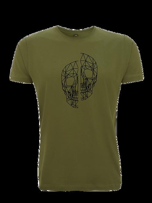 Abstract Polygon Skull T-Shirt