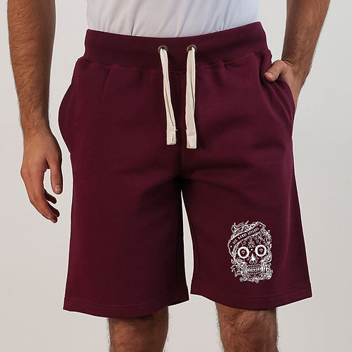 Aye Kandy Maroon Campus Shorts