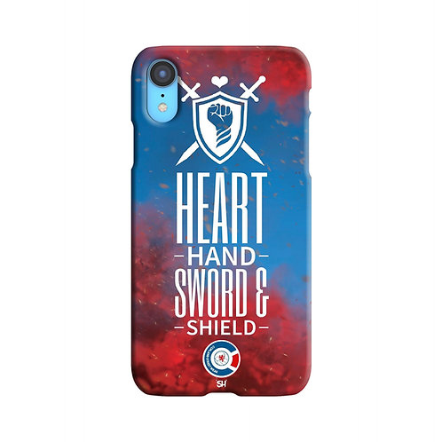 Hart Hand Sword Shield iPhone Case