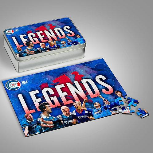 Legends Jigsaw & Tin