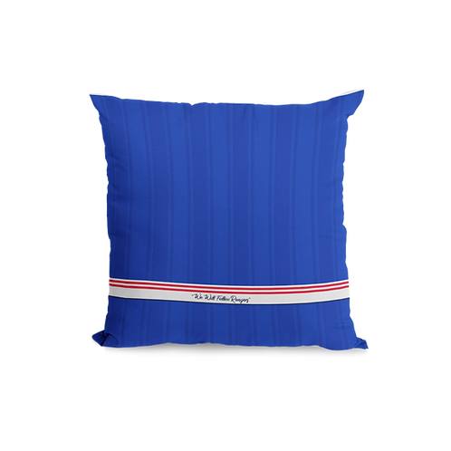 Rangers Home Strip Cushion 19/20