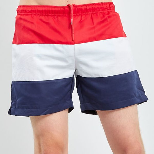 Red White & Blue Swim Shorts