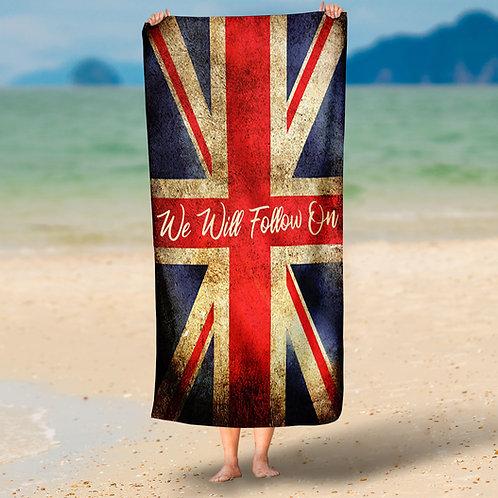 Follow On Beach Towel
