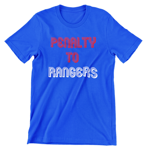 Penalty To Rangers T-Shirt