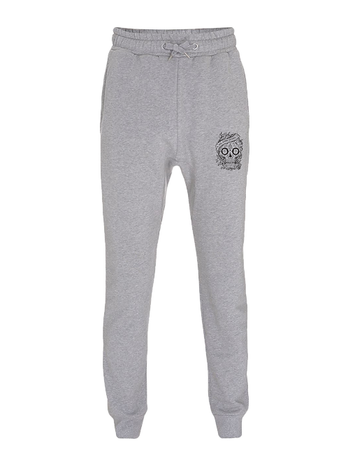 Aye Kandy Skull Sweatpants - Grey