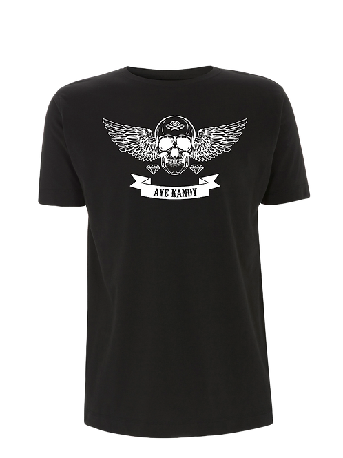 Aye Kandy Black Wings T-Shirt