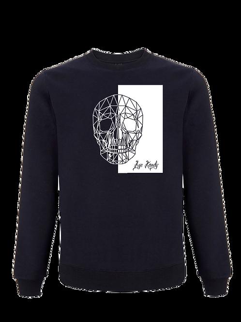 Polygon Skull Sweatshirt