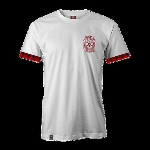 Tartan Turn Up T-Shirt