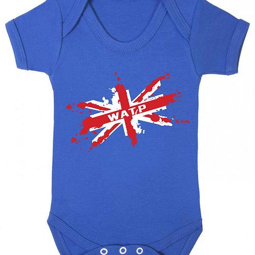 WATP Union Flag Babygrow