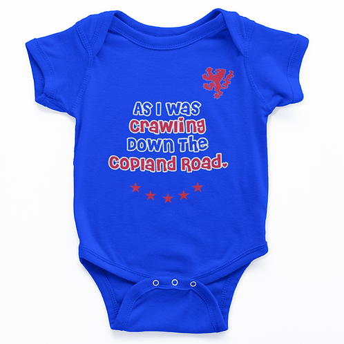 Walk Down Copland Road Babygrow