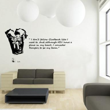 Jorg Albertz Vinyl Wall Art