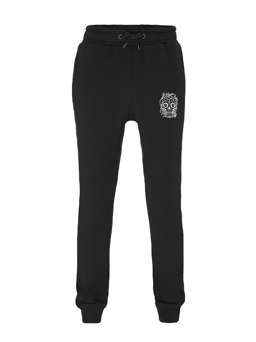 Aye Kandy Skull Sweatpants - Black