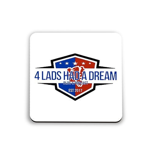Four Lads Blog Coaster