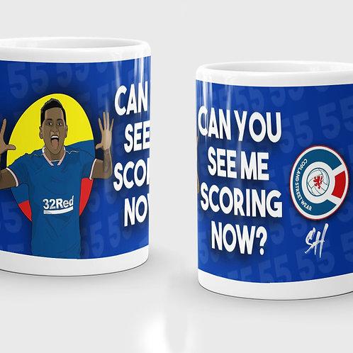 Can You See Me Scoring Now Mug