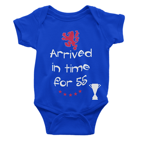 Arrived in time 55 Babygrow