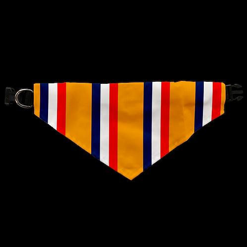 Oranj Bar Scarf Dog Collar