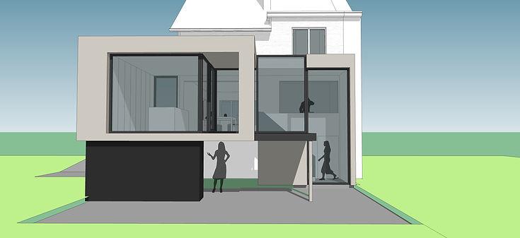 it-architecten architecten Mechelen moderne architectuur grimbergen renovatie nieuwbouw vebouwing