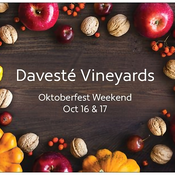 Oktoberfest SUNDAY $7 - includes 1 glass wine or craft beer