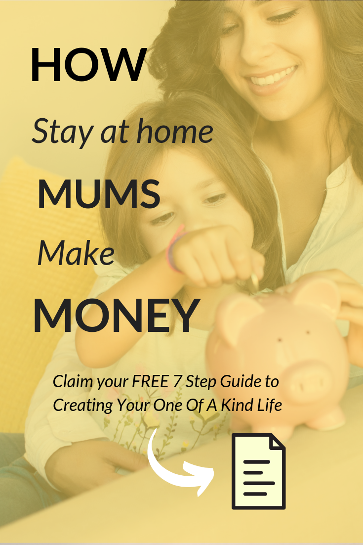 How stay at home Moms make money | Wondering how and what the successful stay at home Moms are doing to make money? This post is going to cover off some of the 5 habits successful Moms cultivate, to make it happen. Click through for my key habits to start ticking your done list and start creating your wish list.