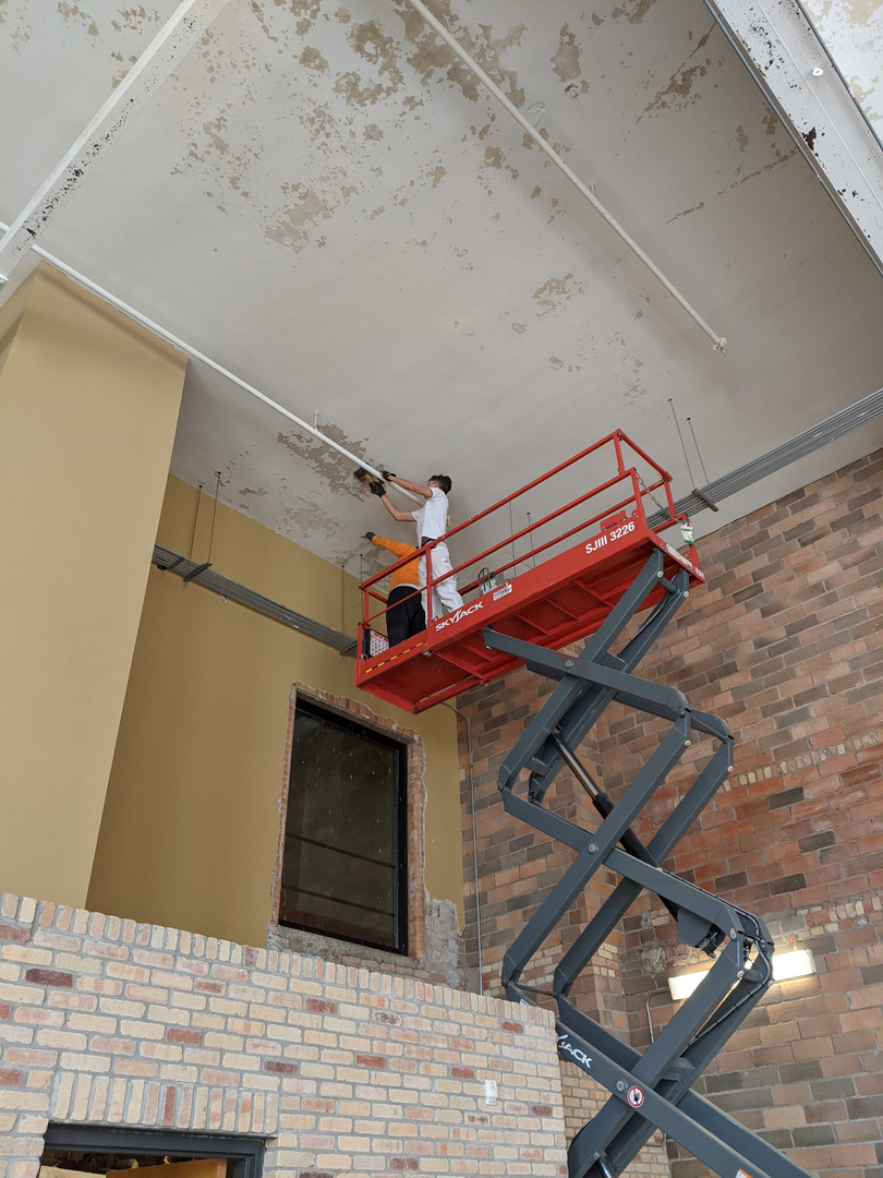 Central Lofts Industrial work