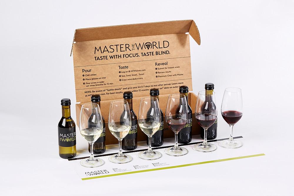 Master the World Wine Tasting