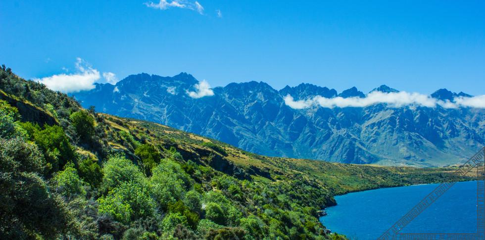 Queenstown New Zealand Lake Wakatipu NZ026