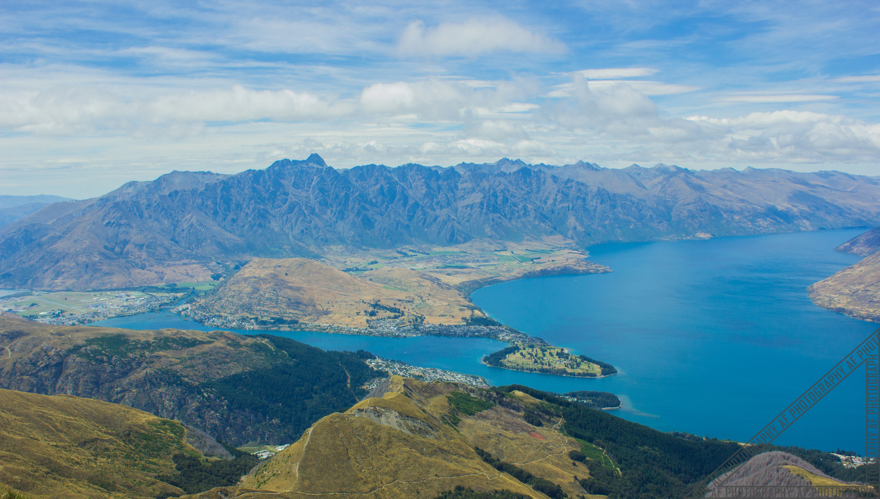 Mount Ben Lomond Queenstown New Zealand NZ099
