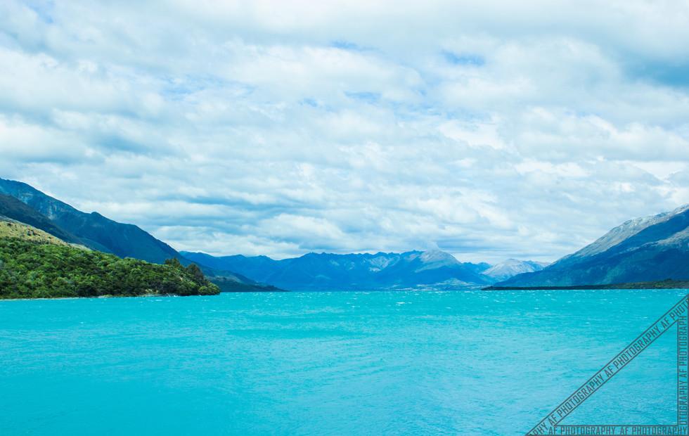 Queenstown New Zealand Lake Wakatipu NZ010
