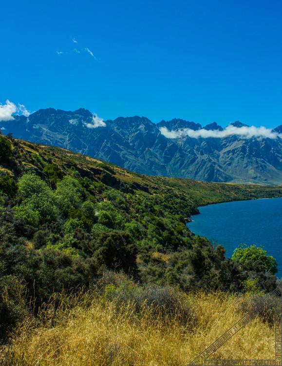 Queenstown New Zealand Lake Wakatipu NZ027