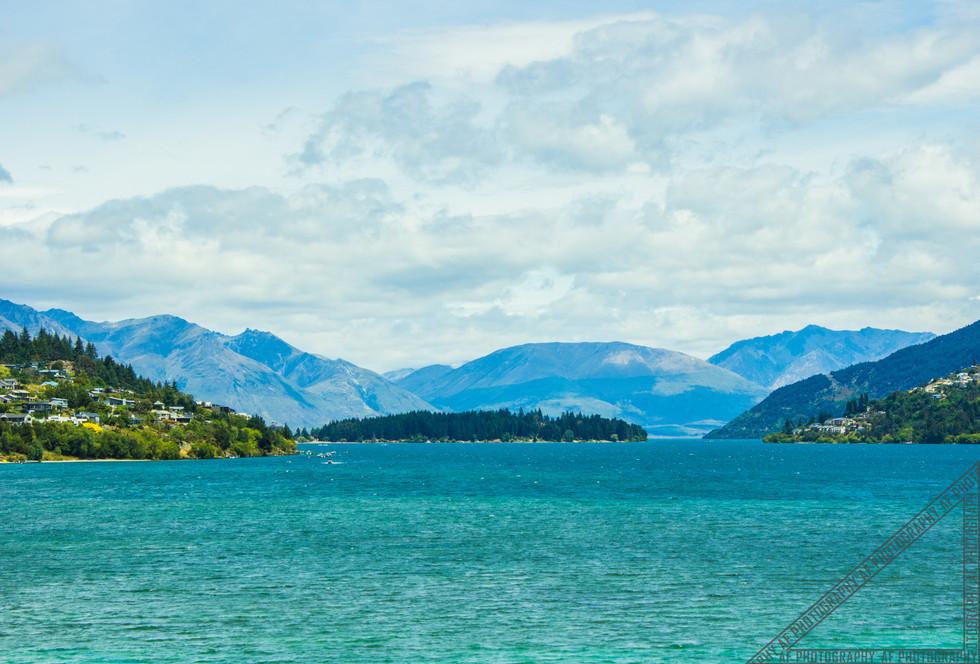 Queenstown New Zealand Lake Wakatipu NZ005