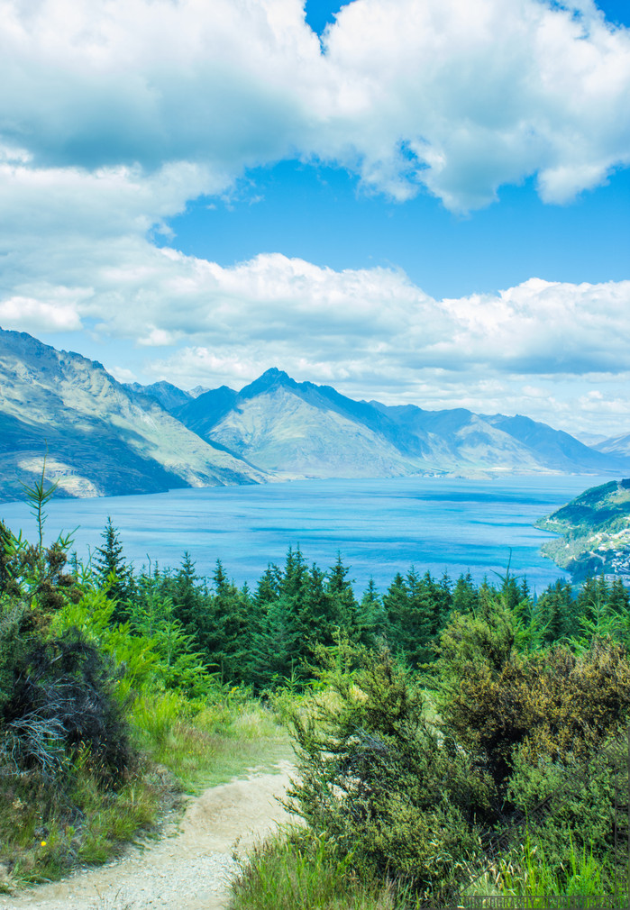 Queenstown New Zealand Lake Wakatipu NZ021