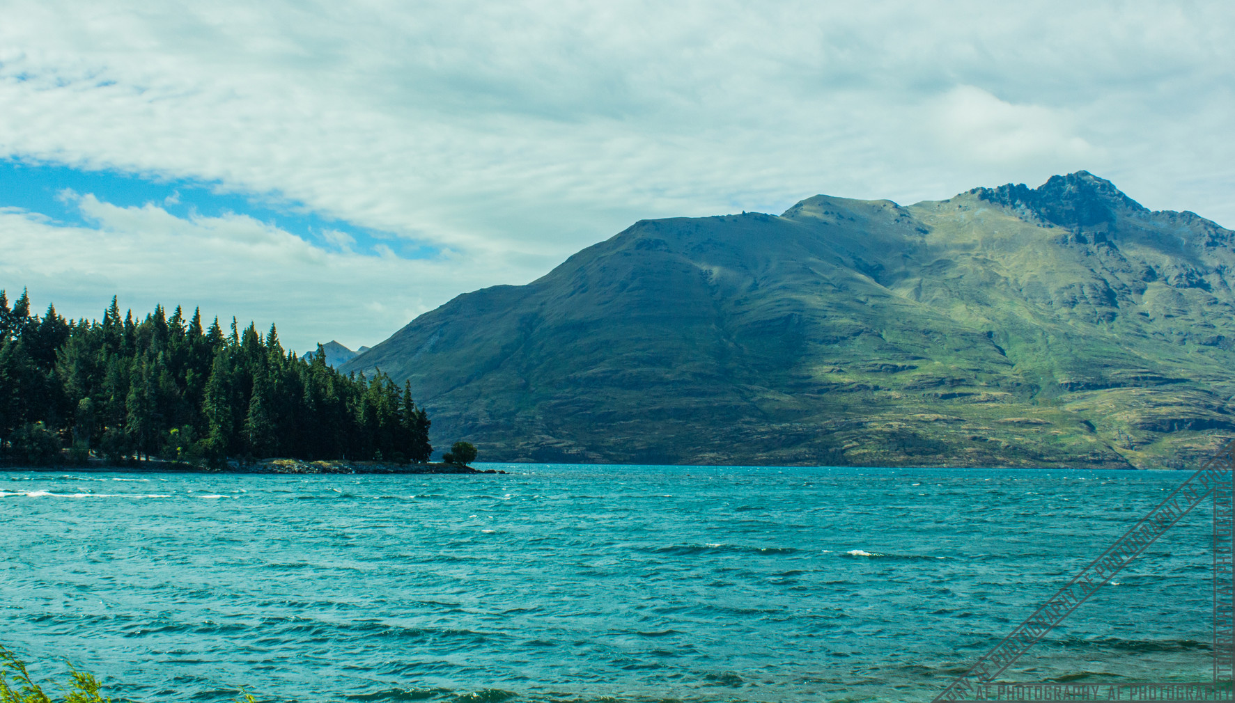 Queenstown New Zealand Lake Wakatipu NZ002
