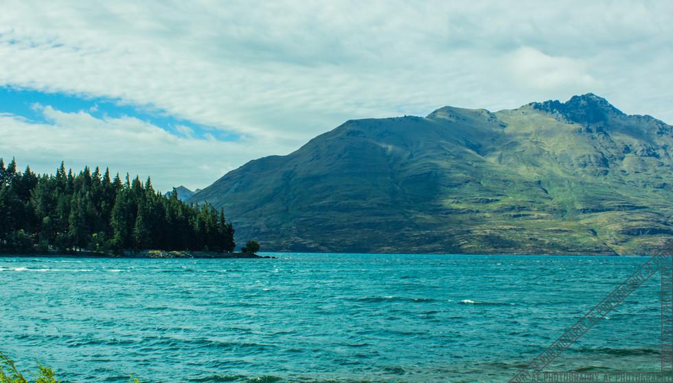 Queenstown New Zealand Lake Wakatipu NZ002