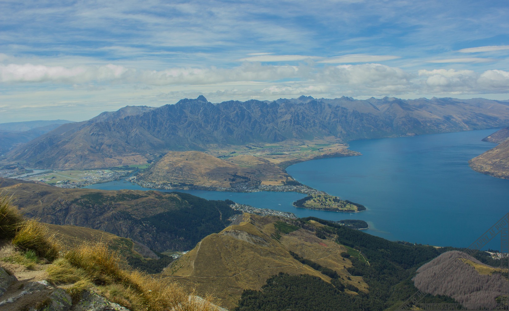 Mount Ben Lomond Queenstown New Zealand NZ106