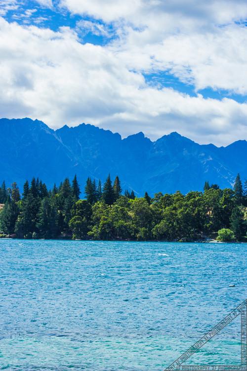 Queenstown New Zealand Lake Wakatipu NZ008