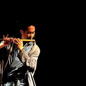 レスポアール久山「二胡と篠笛とピアノ」