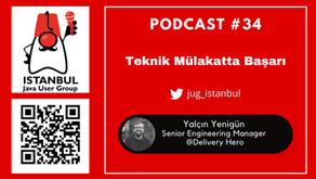 Podcast#34 Teknik Mülakatta Başarı