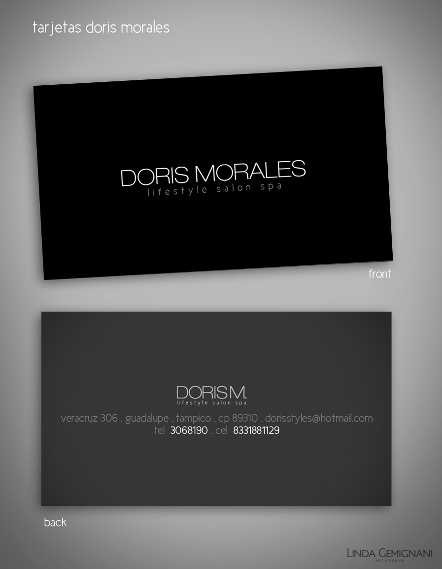 DorisMorales · BusinessCard