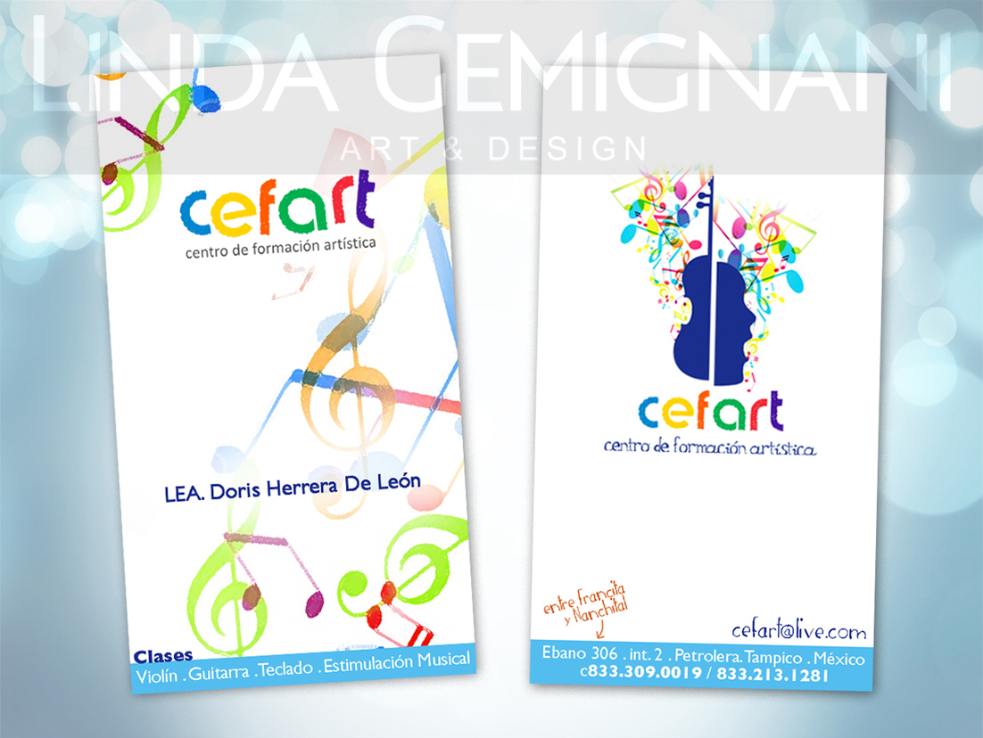 CEFART Kids · Business Card