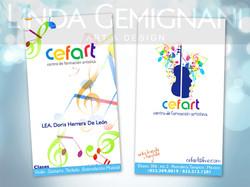 CEFART Kids · Business Card