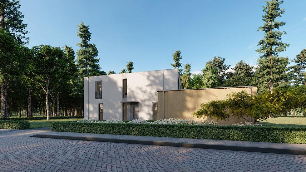 Villa ontwerp Almere Oosterwold