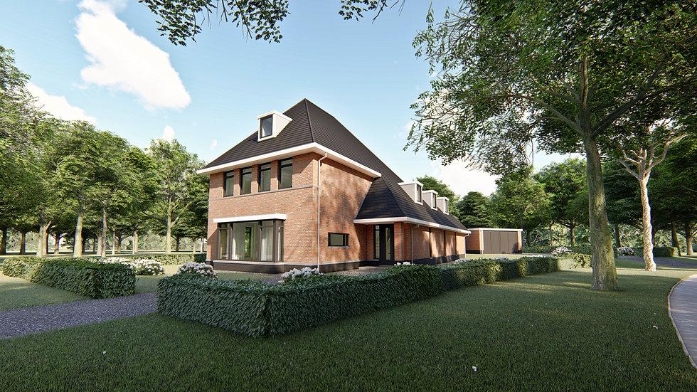 Villa ontwerp Amersfoort