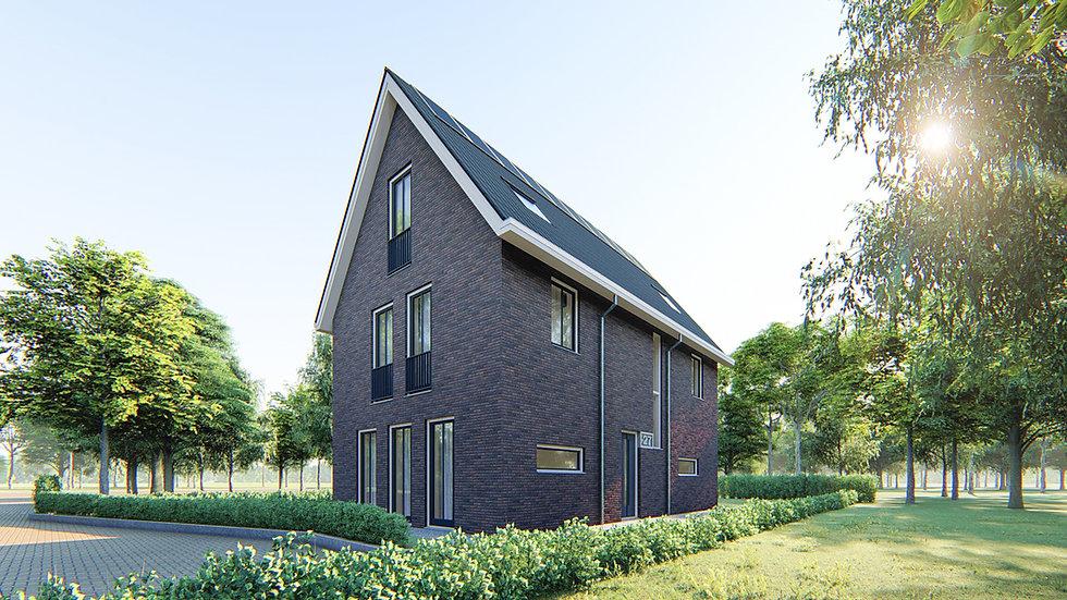 Villa ontwerp Hilversum NoM