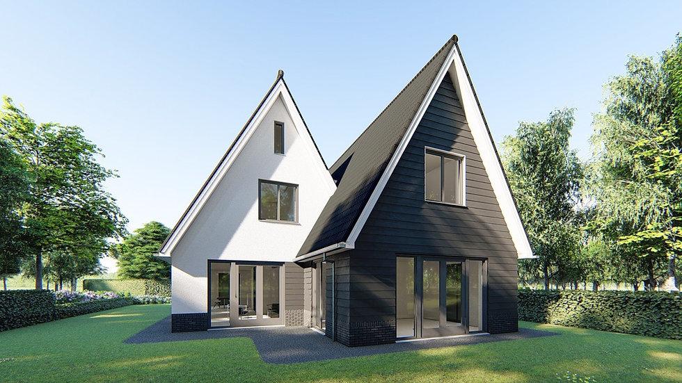 Ontwerp van villa in Gouda